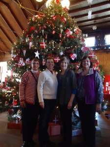 College Friends at Danebod's Old Fashioned Danish Christmas